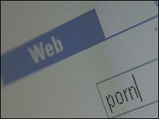 Online search for porn, BBC