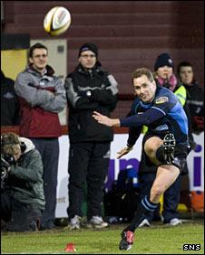 Glasgow Warriors' Dan Parks