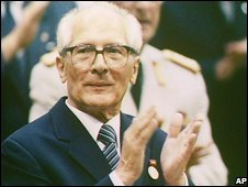 Erich Honecker, file pic from 1989