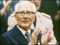 Эрих Хонекер (снимок из архива, 1989 год)