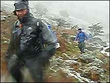 Lake District marathon runners