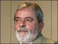 El presidente de Brasil, Luiz Inacio Lula da Silva.