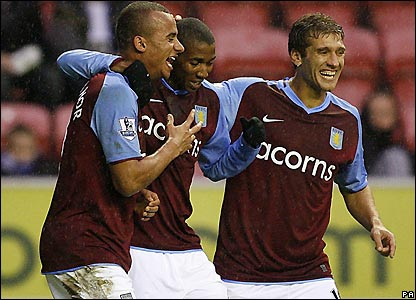 Villa celebrate their second