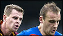 Chris Porter (left) was on the scoresheet for Motherwell against Inverness CT