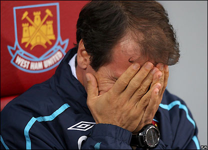 Zola shows his disappointment