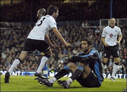 Dempsey celebrates his equaliser