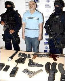 Eduardo Arellano-Felix in custody on 26 October