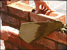 Bricklaying (library picture)