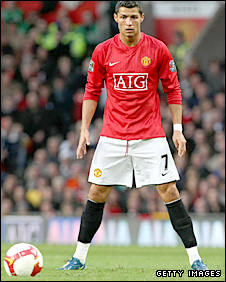 Man Utd star Cristiano Ronaldo