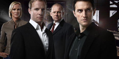 Hermione Norris, Rupert Penry-Jones, Peter Firth and Richard Armitage