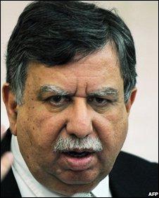 Finance adviser Shaukat Tarin
