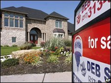 Home for sale in America