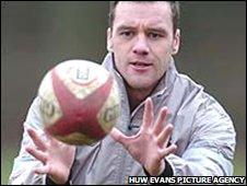 Wales wing Mark Jones