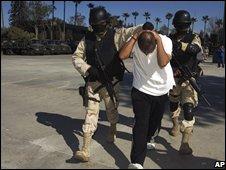 Drug arrest in Mexico