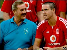 Sir Allen Stanford and Kevin Pietersen