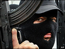 Masked militant (file picture)