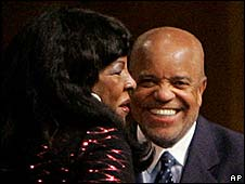 Martha Reeves and Berry Gordy Jr