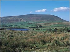 Pendle hill - picture courtesy of Lancashire tourism