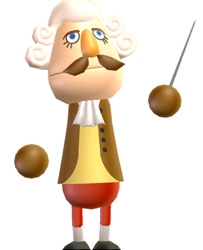 Wii Music character