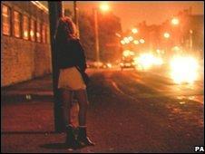 Street prostitute (generic)