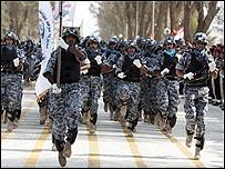 قوات عراقية في محافظة بابل