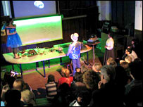Obra teatral sobre cambio climático en Montevideo, Uruguay