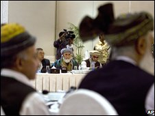 Delegates at the mini-jirga in Islamabad