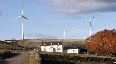 Dalswinton wind farm