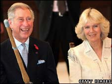 Charles and Camilla in Japan