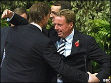 Redknapp and Adams