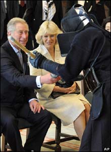 Prince Charles and the Duchess of Cornwall in Japan
