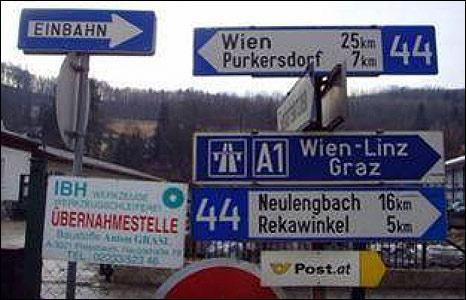 Source: OAMTC, location: Austria, Niederoesterreich near Vienna