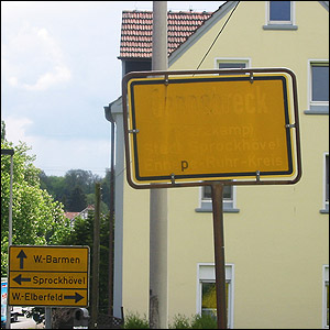 Source: ADAC, location: Germany, Wuppertal