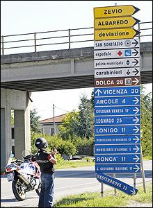 Source: ACI-Mondadori, location: Italy, Veneto, San Bonifacio