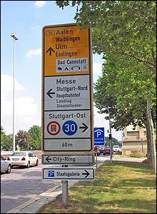 Source: ADAC, location: Germany, Baden-Wurttemberg, Stuttgart