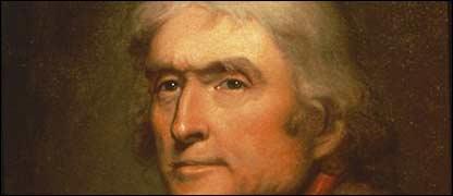 Thomas Jefferson, tercer presidente de EE.UU.