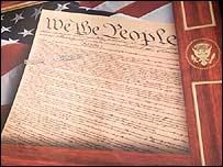 Copia de la Declaración de Independencia de EE.UU.