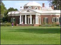 Hacienda Monticello, de Thomas Jefferson