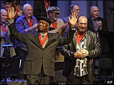 Booker T Jones and Steve Cropper