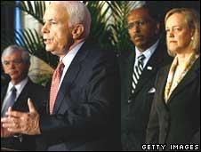 John McCain, Meg Whitman, John Taylor campaigning in Pennsyvlania