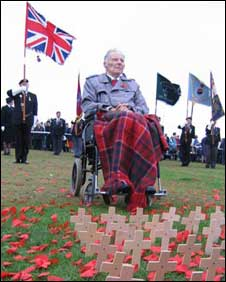 Harry Patch fought on the Western Front in WWI