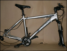 Bike used by gunman