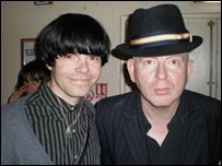 Alan McGee and Tim Burgess