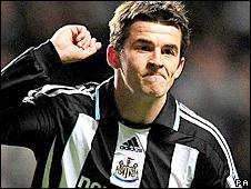 Newcastle midfielder Joey barton