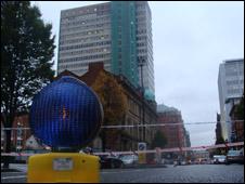 city centre alert
