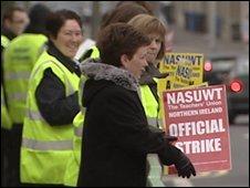 striking teachers