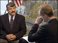 Stephen Sackur talks to Richard Trumka of the AFL-CIO