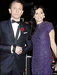 Daniel Craig and partner Satsuki Mitchell