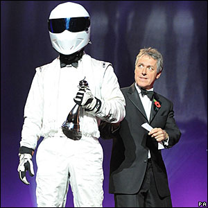 The Stig and Griff Rhys Jones
