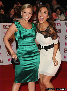 Suzanne Shaw and Myleene Klass